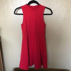 ASOS Cotton red dress
